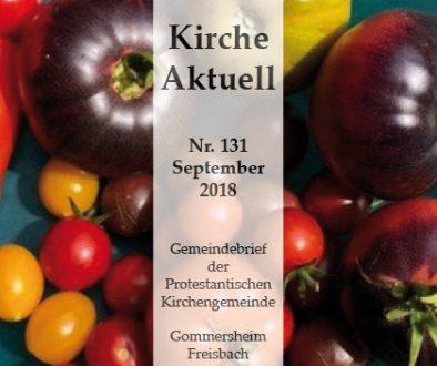 Gemeindebrief September 2018