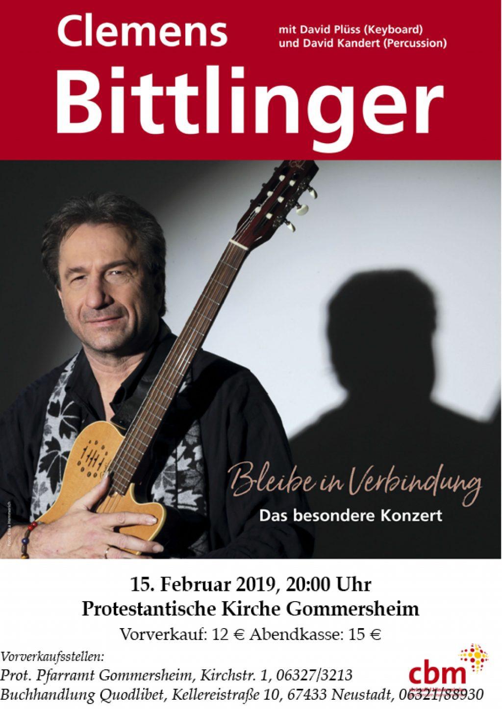 Clemens-Bittlinger-Konzert