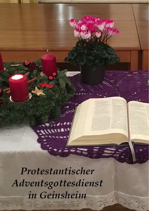 Adventsgottesdienst Geins