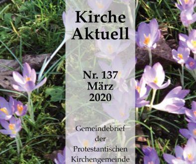 Gommersheim März 2020 Titelseite